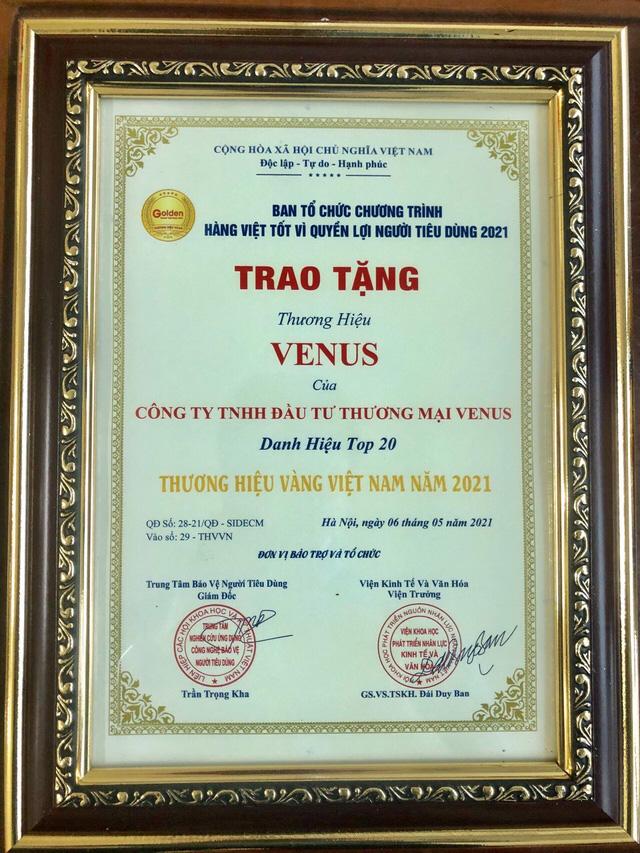 Venus - Thương hiệu Việt mang tới các sản phẩm chăm sóc sức khỏe an toàn từ thiên nhiên - Ảnh 3.