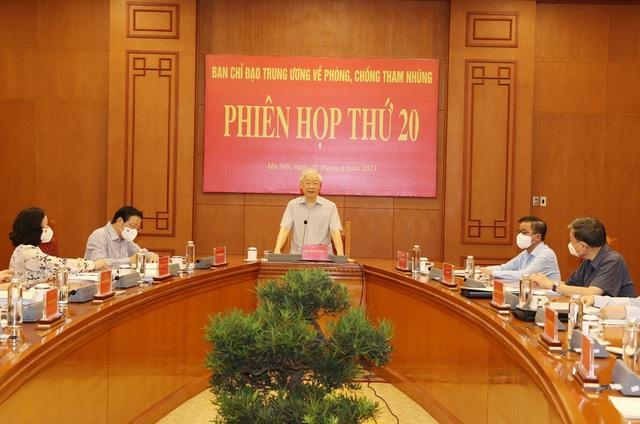Tổng Bí thư Nguyễn Phú Trọng: Công tác phòng, chống tham nhũng ngày càng quyết liệt hơn - Ảnh 2.