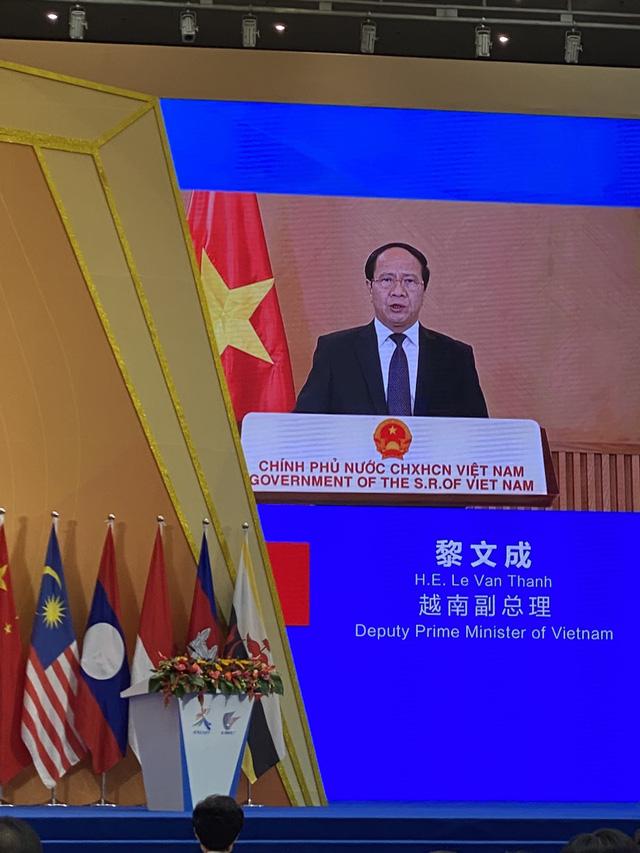 Phó Thủ tướng Lê Văn Thành dự khai mạc CAEXPO 18 tại Trung Quốc - ảnh 1