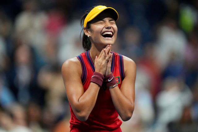 Emma Raducanu vô địch giải quần vợt Mỹ mở rộng 2021 - Ảnh 3.