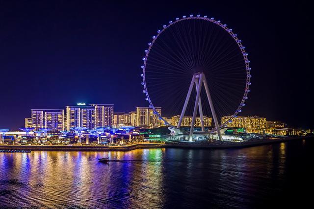 Dubai khai trương vòng quay cao nhất thế giới - Ảnh 1.