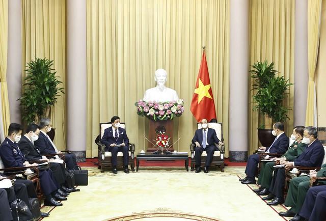 Việt Nam - Nhật Bản hợp tác quốc phòng để bảo đảm hòa bình - Ảnh 1.
