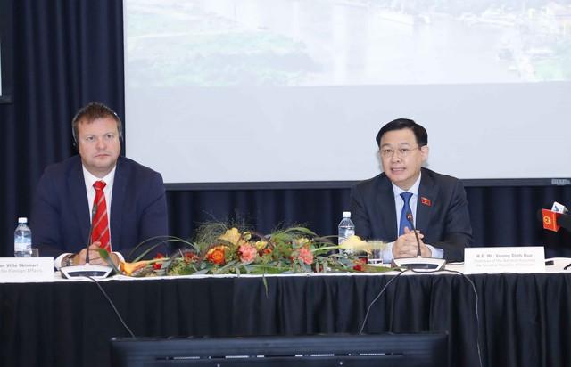 Chuyến thăm châu Âu của Chủ tịch Quốc hội - Sự khẳng định về một Quốc hội hành động, một Việt Nam chủ động, nỗ lực - Ảnh 1.