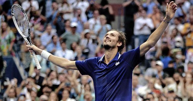 Đánh bại Djokovic, Medvedev lên ngôi vô địch Mỹ mở rộng 2021 - Ảnh 2.