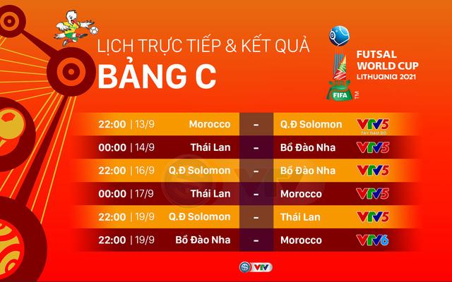 Lịch thi đấu và trực tiếp FIFA Futsal World Cup Lithuania 2021™ hôm nay | ĐT futsal Việt Nam đối đầu Brazil - Ảnh 2.