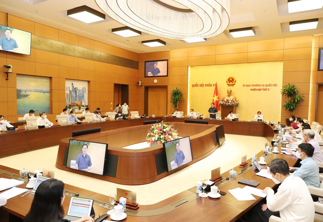 Chủ tịch Quốc hội: Tập trung cho ý kiến về các nội dung trình Quốc hội tại Kỳ họp thứ 2 - Ảnh 1.
