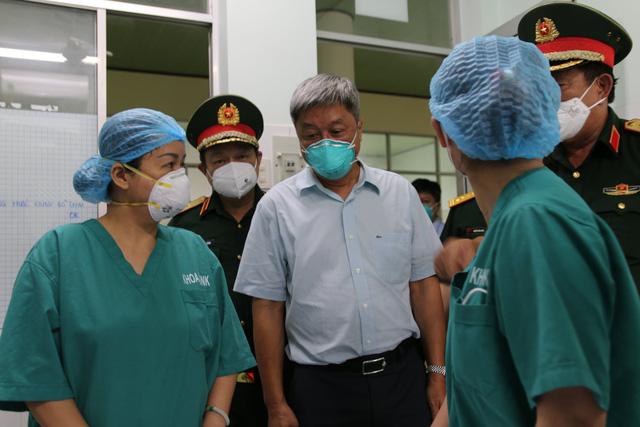 Thứ trưởng Nguyễn Trường Sơn: Tiền Giang cần tập trung 6 nhóm vấn đề để kiểm soát dịch - Ảnh 1.