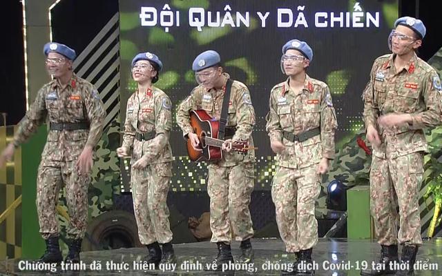 Dàn trai xinh gái đẹp Cục giữ gìn hòa bình Việt Nam tại Chúng tôi chiến sĩ - Ảnh 2.
