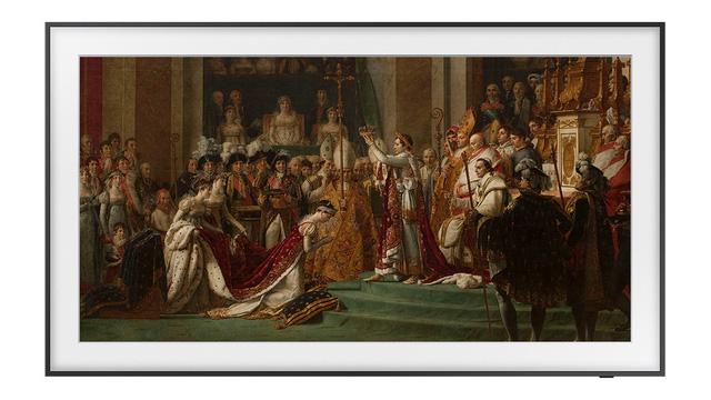 Thưởng thức các tác phẩm nghệ thuật từ bảo tàng Louvre trên TV The Frame của Samsung - ảnh 2