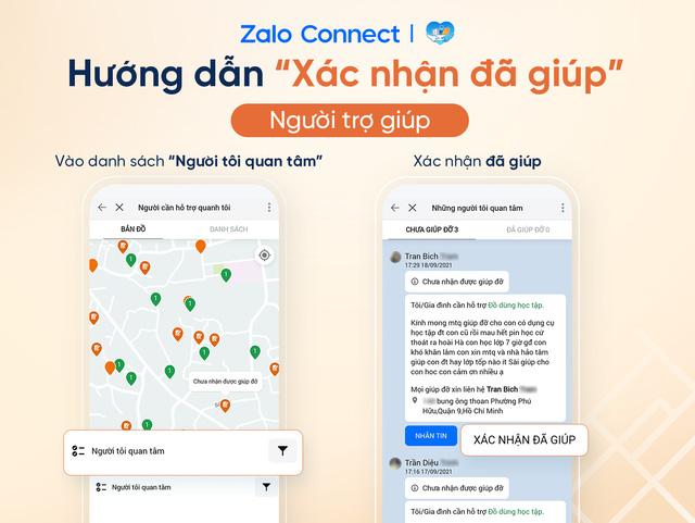 Hỗ trợ đồ dùng học tập cho học sinh hoàn cảnh khó khăn qua Zalo Connect - Ảnh 2.