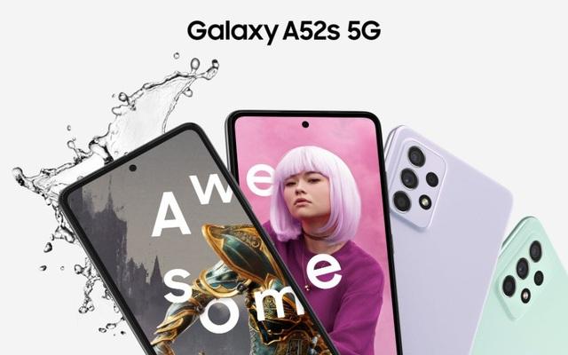 Galaxy A52s 5G ra mắt tại Việt Nam - ảnh 1