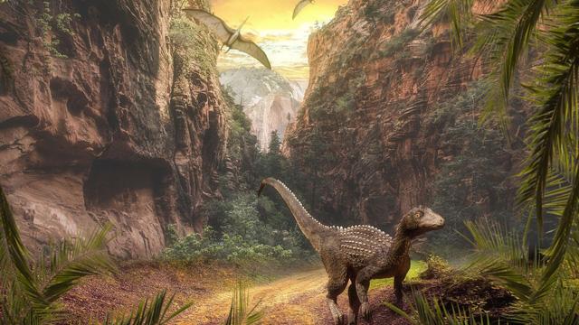 Phun trào núi lửa mở đường cho khủng long trở thành loài thống trị thế giới động vật cổ đại - ảnh 1
