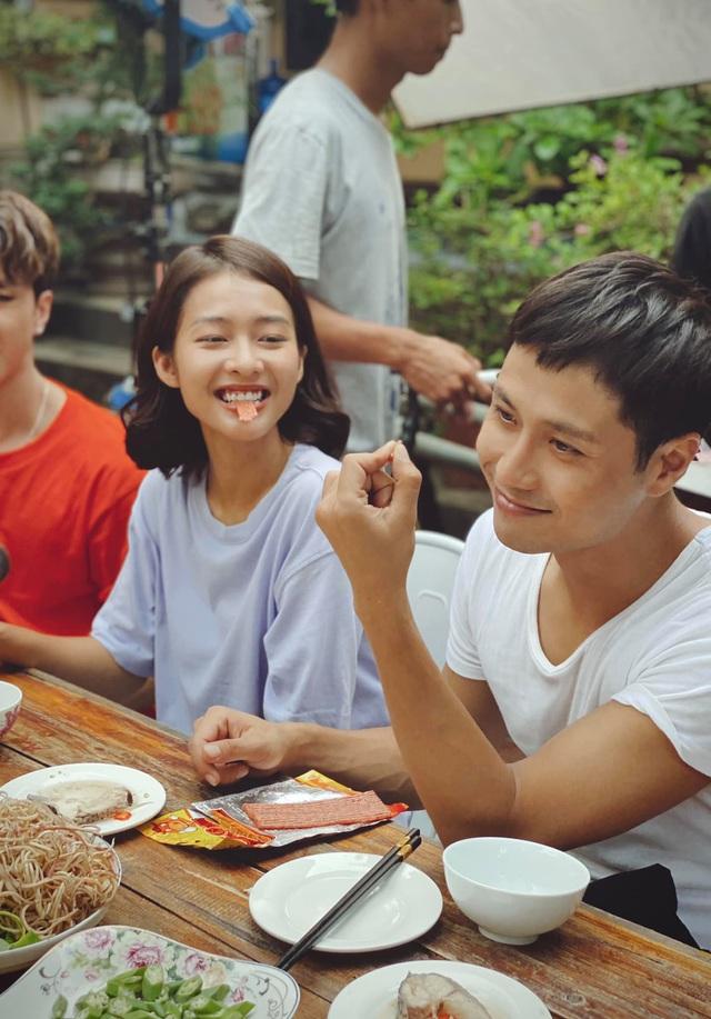 11 tháng 5 ngày: Thanh Sơn - Khả Ngân ngọt ngào từ trên phim đến hậu trường - ảnh 4