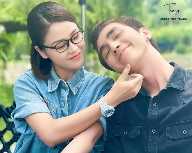 Bình An khác lạ trong phim mới cùng Lương Thu Trang - ảnh 3