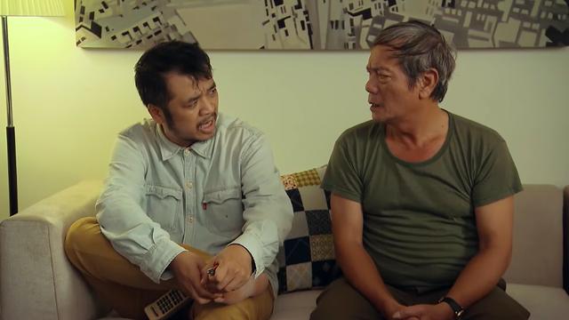 Ngày mai bình yên - Tập 8: Ông Chiến (NSƯT Tiến Minh) đòi anh trai tìm suất ưu tiên tiêm vaccine COVID-19 - ảnh 2