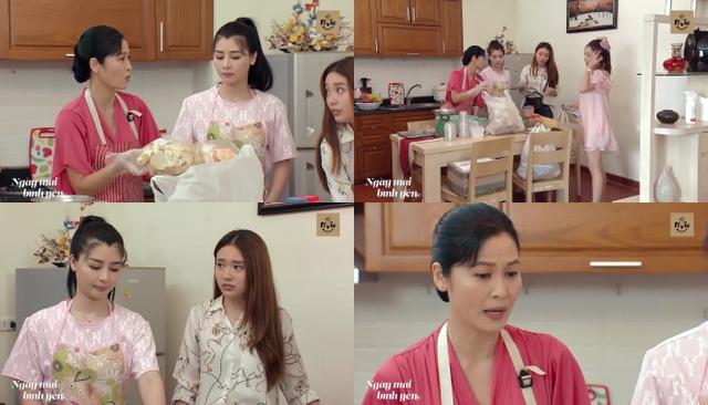 Ngày mai bình yên - Tập 15: Bà Trúc cáu gắt khi ba dì cháu tiêu pha hoang phí - ảnh 1