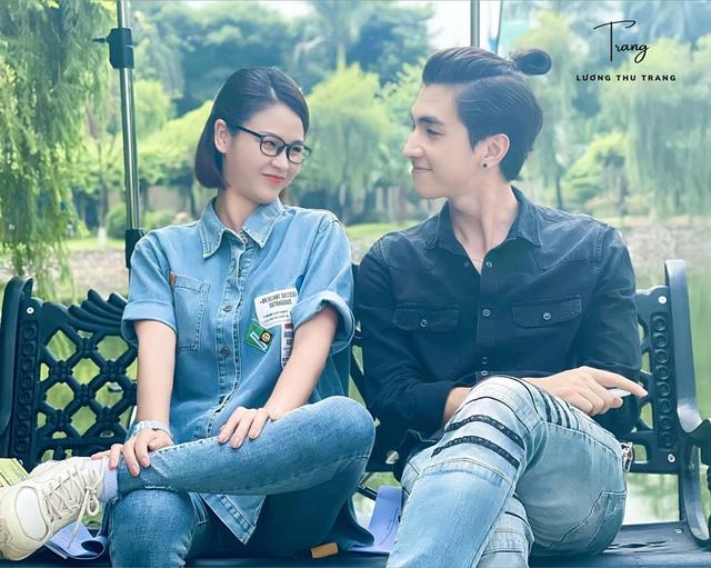 Bình An khác lạ trong phim mới cùng Lương Thu Trang - ảnh 1