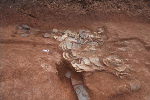 Phát hiện hơn 30 di tích văn hóa trong các ngôi mộ cổ ở miền Trung của Trung Quốc - ảnh 1