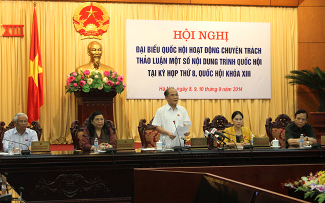 Đại biểu Quốc hội chuyên trách thảo luận nhiều nội dung quan trọng - ảnh 1