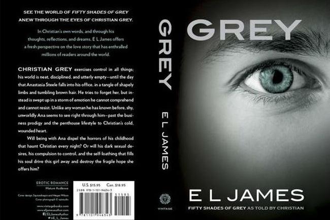 """VTV.vn - Phần mới của cuốn tiểu thuyết tình ái Fifty Shades of Grey - 50  sắc thái có lượng phát hành """"khủng"""" chỉ sau 4 ngày phát hành."""