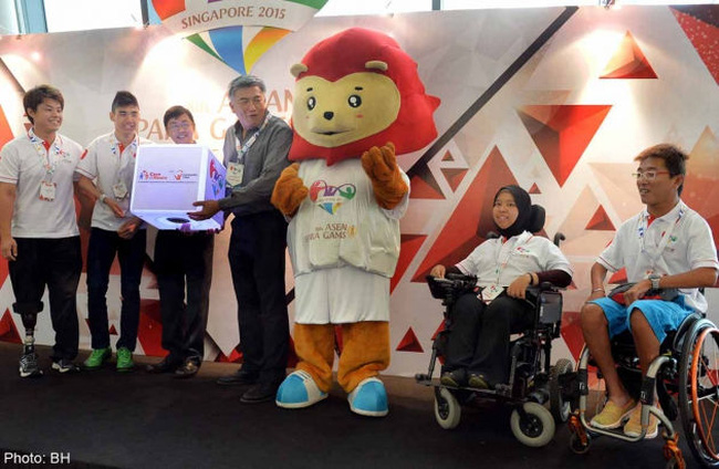 8th ASEAN Para Games 2015 Partnership Launch with ComChest and sponsorship targets