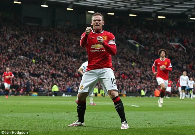 """VTV.vn - Cuối tuần qua, Wayne Rooney và Gareth Bale đã góp thêm cho bóng đá  thế giới những pha ăn mừng bàn thắng """"dị"""" nhất trong lịch sử."""