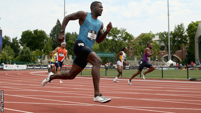 Justin Gatlin became the fifth-fastest 200m runner in history