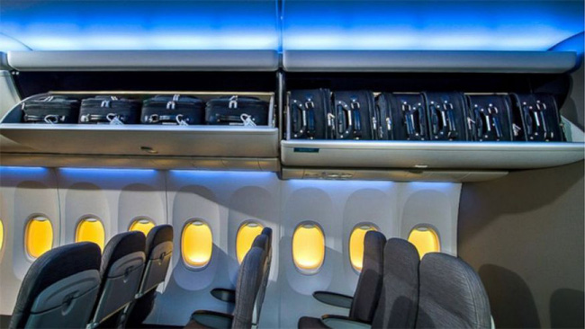 Boeing's 737 will have more spacious overhead bin that can fit between 130 and 194 bags