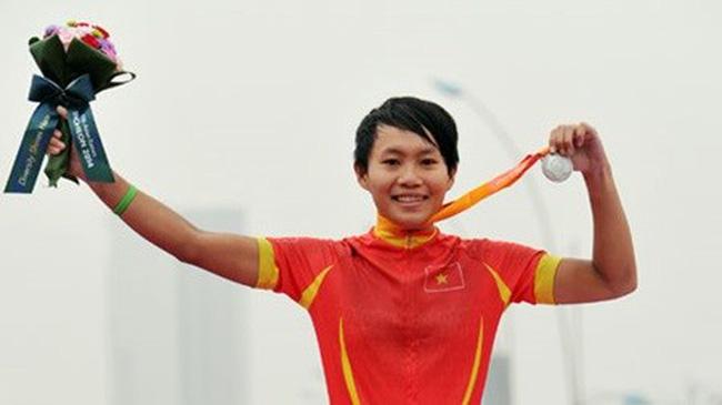 Cycler Nguyen Thi That (Source: bongdaplus.vn)