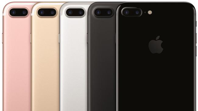 iPhone 7 và iPhone 7 Plus sẽ có tổng cộng 5 phiên bản màu sắc để người dùng  lựa chọn