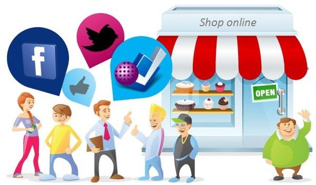 Kết quả hình ảnh cho kinh doanh online