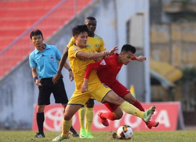 Vòng 22 giải VĐQG V.League 2017: Tâm điểm màn so tài SLNA - CLB Hải Phòng