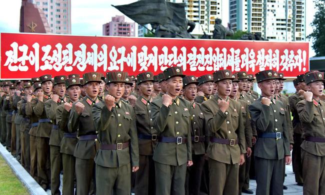 Gần 3,5 triệu người Triều Tiên đăng ký nhập ngũ - ảnh 2