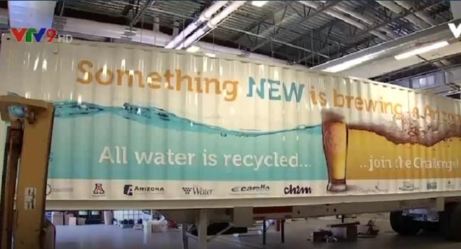 Dùng nước thải để sản xuất bia