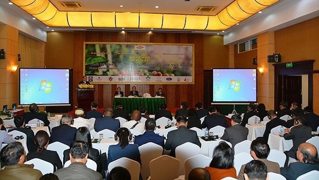 The workshop on Vietnam's coffee sector development
