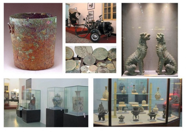 Hai Phong Museum holds a small but impressive collection of local historical artifacts which trace the heritage of the region