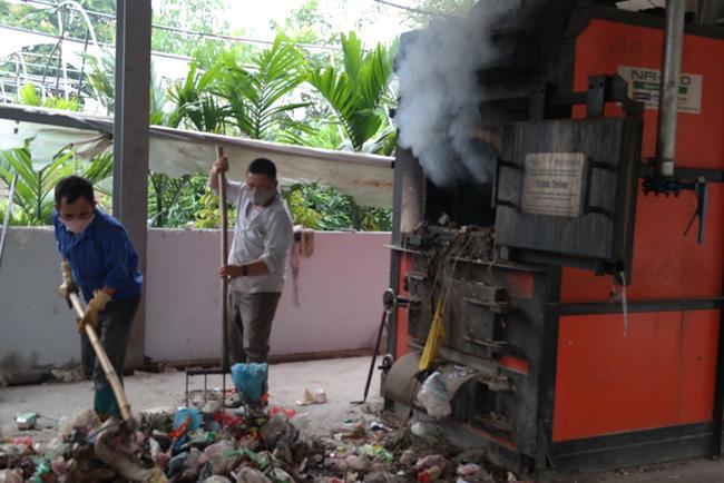 Ô nhiễm nghiêm trọng do đốt rác thải tại Bắc Ninh - ảnh 1