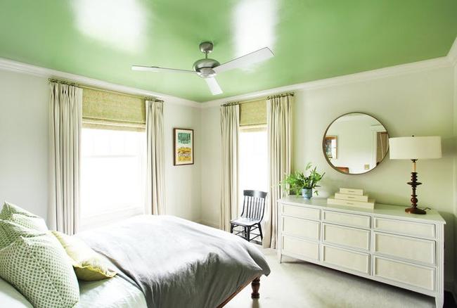 Tạo điểm nhấn nổi bật cho không gian trong nhà bằng màu xanh lá dịu mát - ảnh 16