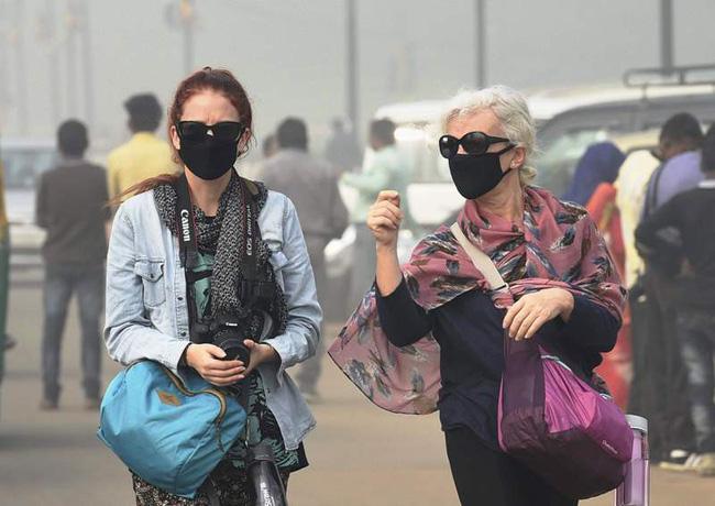 Du khách rời New Delhi do ô nhiễm không khí - ảnh 1