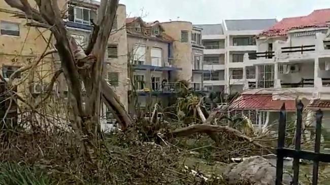 """Barbuda trở thành """"đảo ma"""" sau siêu bão Irma - ảnh 1"""