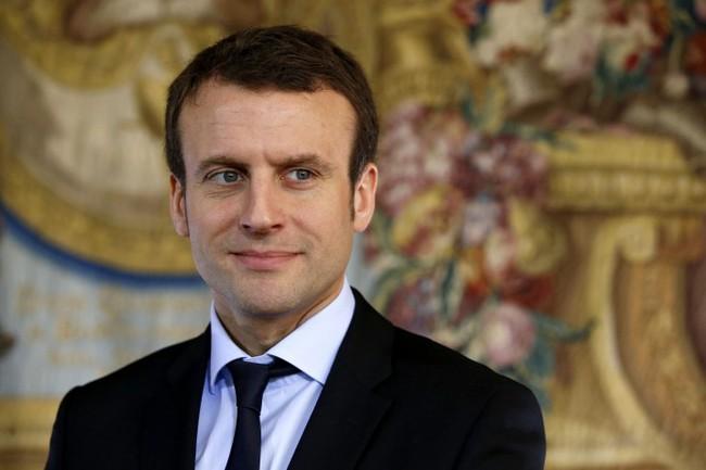Ứng cử viên cuộc bầu cử Tổng thống Pháp Emmanuel Macron. Nguồn: VTV