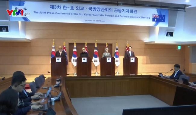 Hàn Quốc, Australia họp tham vấn vấn đề Triều Tiên - ảnh 2