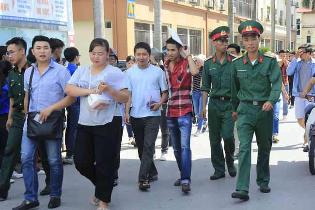 Hơn 7.200 hồ sơ đăng ký xét tuyển vào trường quân đội sai quy định - ảnh 1