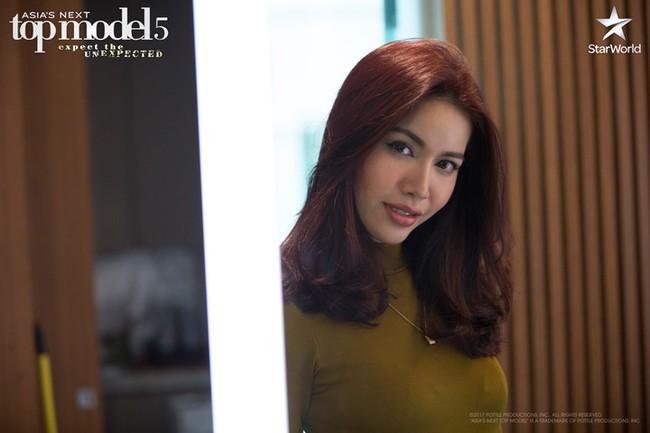 Minh Tú tự nhận là thánh xỉu ở Asia's Next Top Model - ảnh 1