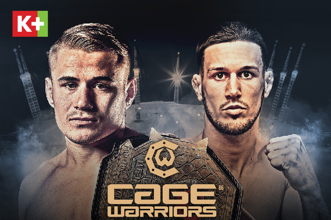 K+ phát sóng độc quyền giải võ tổng hợp MMA Cage Warriors - ảnh 1