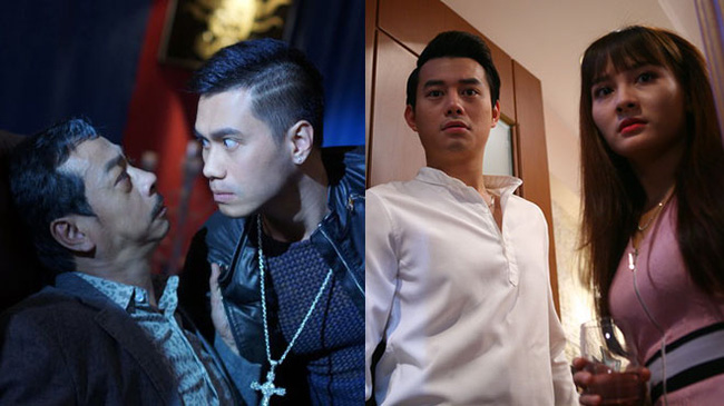 Two blockbluster TV series Sống Chung Với Mẹ Chồng (Living with Mother-in-Law) and Người Phán Xử (The Arbitrator) compete for first place as the number of votes for them is equivalent.