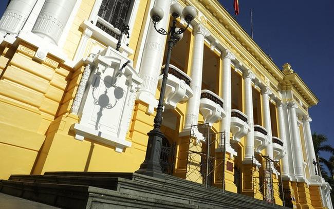 The Opera House in Hanoi