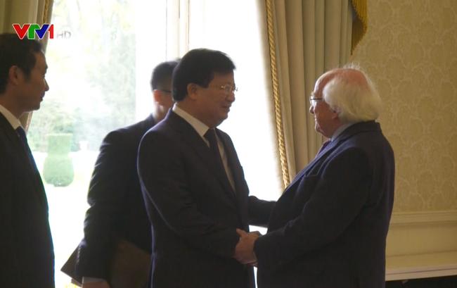 Tăng cường hợp tác Việt Nam - Ireland - ảnh 1
