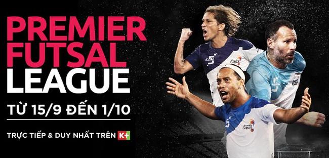 K+ phát sóng giải đấu Premier Futsal 2017 từ ngày 15/9 - ảnh 2