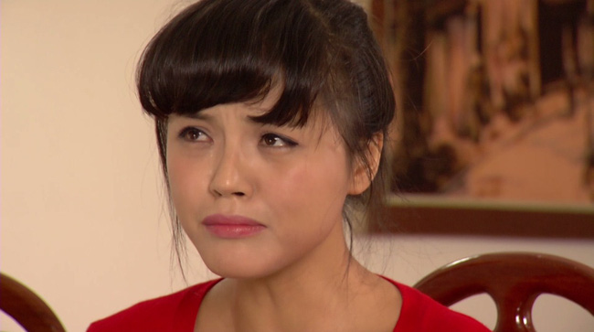Phim Hoa hồng mua chịu - Tập 3: Không được bố cho tiền, Phương (Thu Quỳnh) quyết bỏ nhà ra đi - ảnh 9